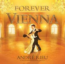 ANDRE RIEU ( NEW SEALED CD & DVD SET ) FOREVER VIENNA (JOHANN STRAUSS ORCHESTRA)