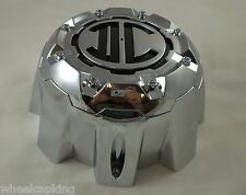 2 Crave Wheels Chrome Custom Wheel Center Cap # NX-8H-UP (8 LUG)