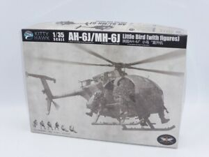 Kitty Hawk AH-6J/MH-6J Little Bird Helicopter with Figures Kit KH50004   1:35th