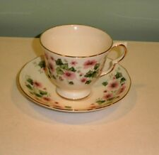 Queen Anne Bone China Cup and Saucer pattern 8654 made in England
