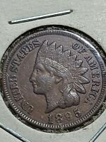 1895 Indian Head Penny! XF+