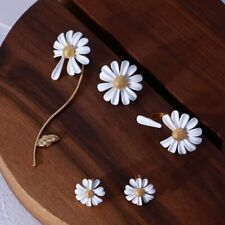 Fashion Sunflower Stud Ear Drop Dangle Flower Long Earrings Women Jewelry Gift
