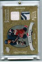 2008-09 Artifacts Treasured Swatches Jersey Patch Combo Gold #TSDCD Chris Drury