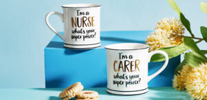 Sass & Belle - I'm A Nurse What's Your Super Power Mug Coffee Cup Gift