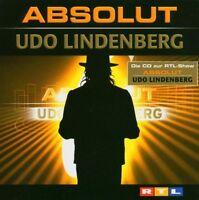 """UDO LINDENBERG """"ABSOLUT (BEST OF)"""" 2 CD 33 TRACKS NEU"""