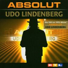 "UDO LINDENBERG ""ABSOLUT (BEST OF)"" 2 CD 33 TRACKS NEU"
