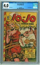 Jo-Jo Comics 17 CGC 4.0 VG (Fox, 7/1948) Classic Jack Kamen Snake Bondage Cover