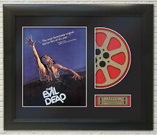 Evil Dead framed Reproduction Poster Reel Display