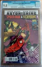 Astonishing Spider-man & Wolverine #1 CGC 9.8 Dynamic Forces COA