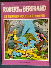 Robert et Bertrand 13 EO Le Dernier vol de l'épervier Bob Bobette Vandersteen