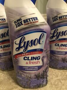 Lysol Cling & Fresh 8 Oz (4 PACK)