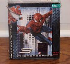 (NEW SEALED) SPIDERMAN 3 PHOTOMOSAICS JIGSAW PUZZLE SPIDER MAN  300 PIECE SPIDEY