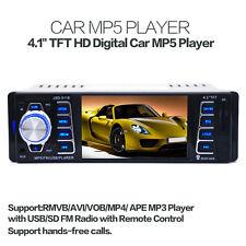 "4.1"" HD TFT LCD Monitor Car Radio Stereo MP3 Player FM/AUX/USB/Bluetooth"