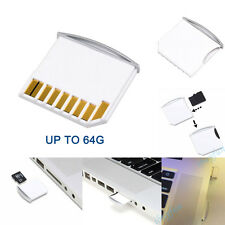 2x Micro SD Card Adapter TF to Short/Mini SD Adapter For MacBook Pro Air Retina