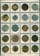 US Coin Club Medals 55pieces Mostly from 1960's & 70's includes some show medals