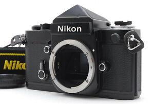 MINT/ Nikon F2 Eyelevel Black Body SLR 35mm Film Camera from Japan #1403