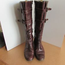 Autograph Brown leather Knee high boots size 7.5