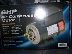Marathon 6HP Air Compressor Motor 3450 RPM