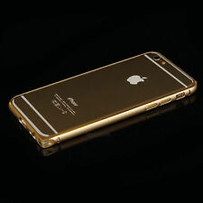 Shockproof Aluminum Bumper Frame Case Cover for Apple iPhone 6/6S GOLD