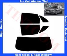 Pellicola Oscurante Vetri Auto Pre-Tagliata Audi Q3 2011-2014 da 5% a 50%