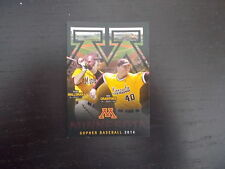 Minnesota Gophers 2014 NCAA baseball pocket schedule