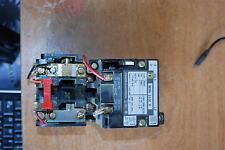Square D 8536-SB01, Size 0, Motor Starter, 2 pole with reset, 120v coil