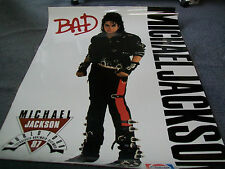 Michael Jackson Australasia World Tour Nov-Dec 1987 Poster Laminated Very Rare