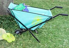 Lightweight Collapsible Garden Wheelbarrow 55D4