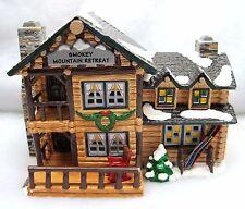 The Original Snow Village Smokey Mountain Retreat Dept 56