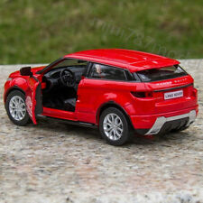 Red Land Rover Evoque Toys Alloy Diecast Model Cars Two doors can open 5 inches
