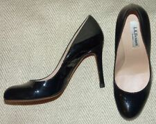 Patent Leather Wet look, Shiny Slim Heels for Women