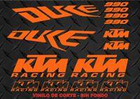 Kit Adhesivos KTM DUKE 990, sticker, decal, autocollant, adesivo, pegatinas