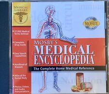 Mosby's Medical Encyclopedia CD Rom 1997