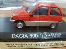 Die cast dacia 500 Lastun 1/43 DeAgostini 1:43 Legendary cars-Model Car