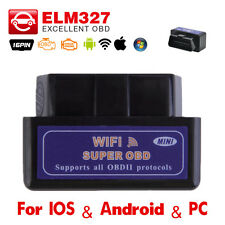 ELM327 Wifi OBD2 Ⅱ Car Diagnostic Interface Scanner Tool For iPhone Android / PC