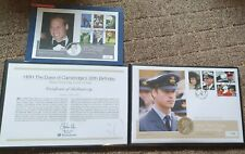 More details for silver coin first day cover 30th birthday hrh duke of cambridge 82/250 limited