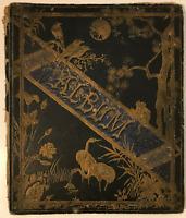 Antique Hardcover Scrapbook/Album