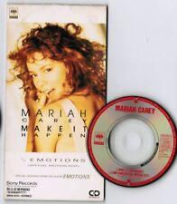 "MARIAH CAREY Make It Happen JAPAN 3"" CD SINGLE SRDS8222 UNSNAPPED Free S&H/P&P"