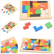 Wooden Puzzles Jigsaw Board Brain Game Puzzle Toy Kids Early Educational Toy RF