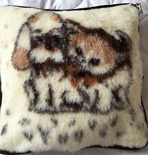 """Almohada"""" gatitos, cachorro """", Cojín decorativo, 100% Lana 40 x 40cm,"""