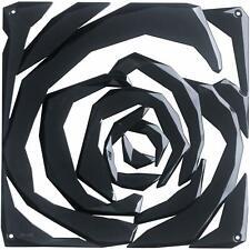 Koziol 2039526 Romance Room Divider Ornament (Set of 4), Solid Cosmos Black