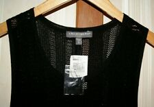 NWT A Pea In The Pod Adorable Black Knit Swimsuit Cover Dress Womens Maternity S