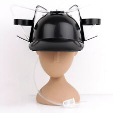 Novelty Drinking Helmet Beer Hat Drink Drinking Holder Soda Party Stag UK stock