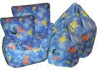 Finding Nemo Dory Beanbags, Chlidrens Character Bean Chairs,Kids Bean Bag Sofa's