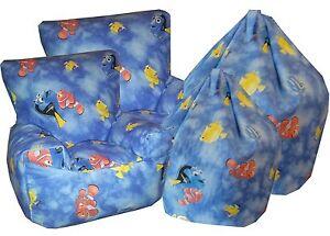 Finding Nemo, Dory Children's Character Beanbag, Bean Bag Chair, Kids Sofa's