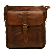 Ashwood Leather Shoreditch Leather Messenger Bag