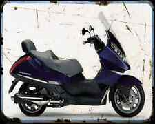 Aprilia Atlantic 500 1 A4 Metal Sign Motorbike Vintage Aged