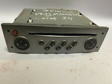 2005 RENAULT MEGANE RADIO STEREO CD PLAYER WITH CODE 8200562686