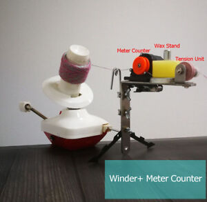 Standard Yarn Ball Winder With Meter Length Counter