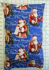 SANTA CLAUS Merry Christmas Small Pillow Case with Travel / Toddler Pillow